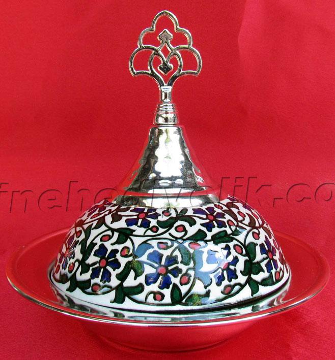 Osmanlı  Çinili lokumluklar