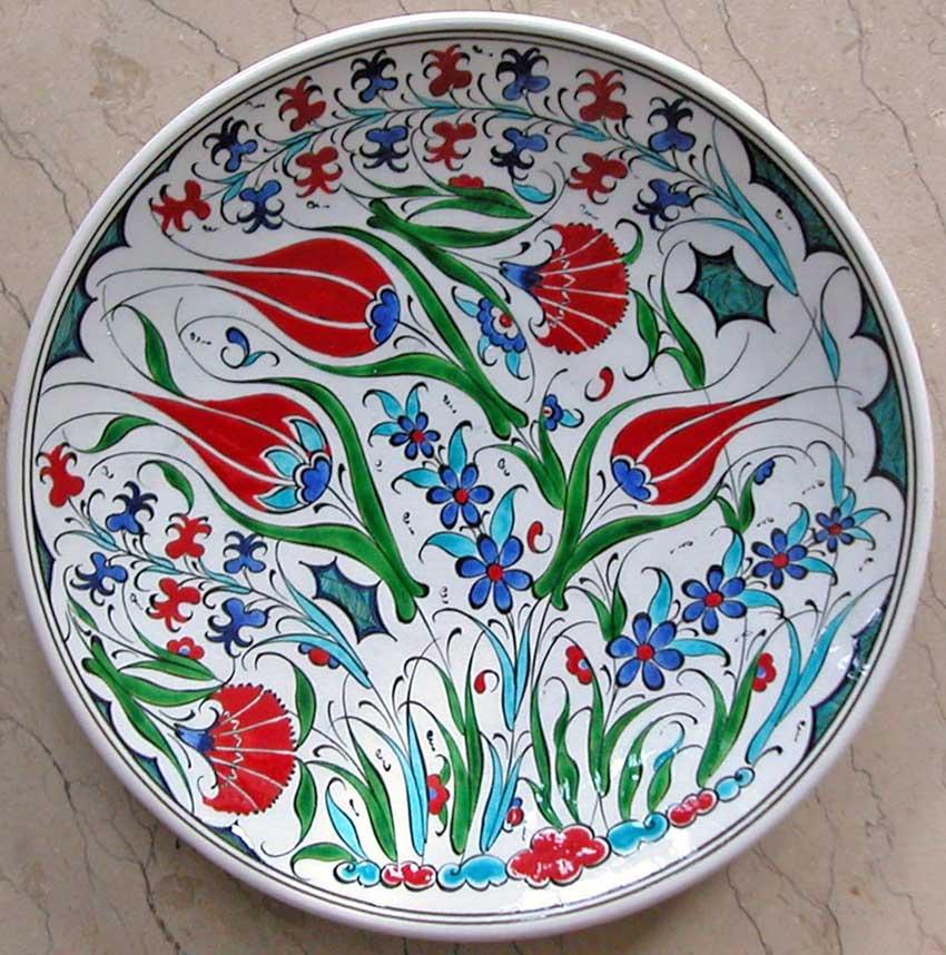 En güzel çini desenleri, Hediyelik Duvar Süsleri, Geleneksel Osmanlı Ev Ofis Dekorasyonları