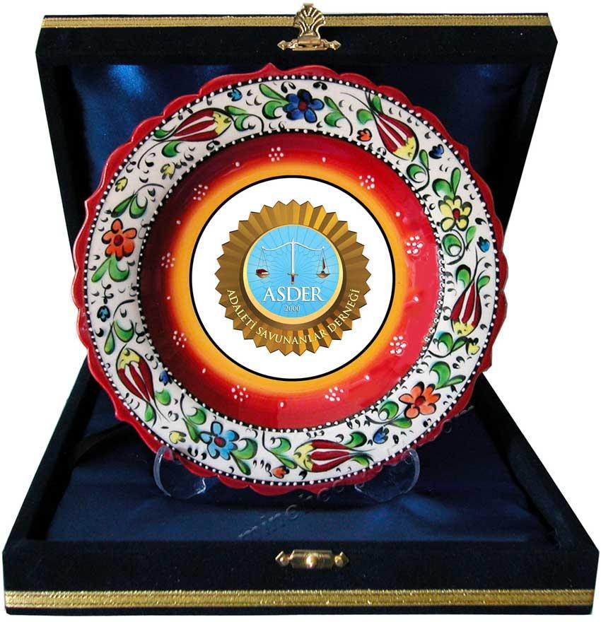 Seramik Tabak Plaket Çeşitleri kültürel hediye mağazası Mine hediyelikte İstanbul