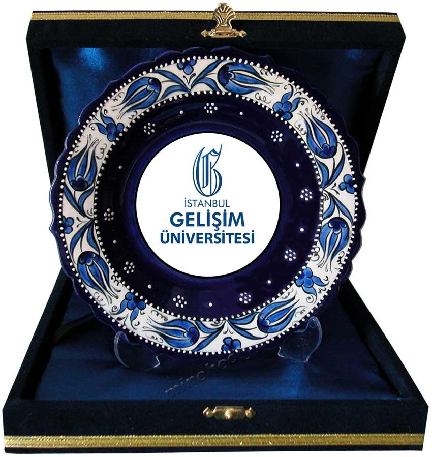 Promosyon Porselen Tabak Plaket kültürel hediye mağazası Mine hediyelikte Hakim ve Savcı atamaları için Tabaklar İstanbul da