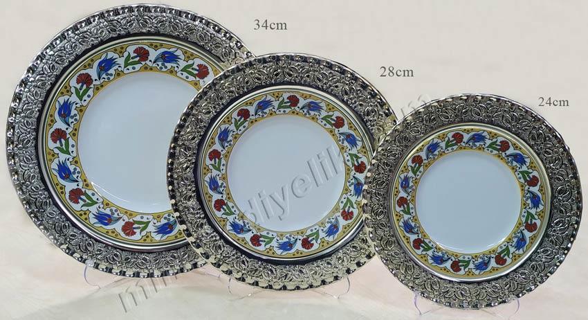 Gümüş plaket tabak ölçüleri ve fiyatları