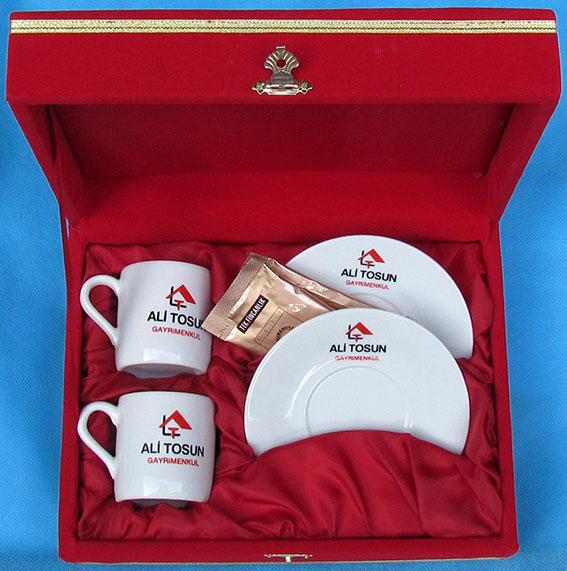 Sade düz beyaz fincana logo resim foto baskı  kutulu desensiz beyaz Türk kahvesi fincan takımları beyaz kahve fincanı fiyatları