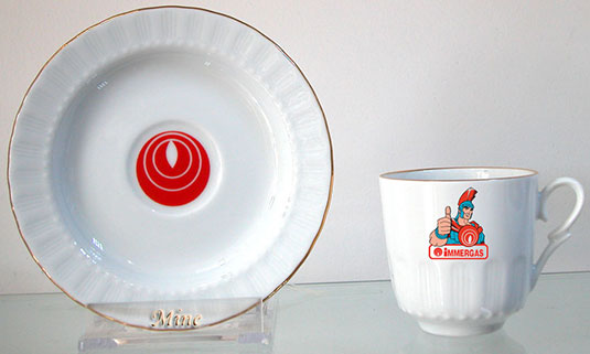 Sade düz beyaz fincana logo resim foto baskı beyaz kahve fincanı takımı  beyaz fincan takımı