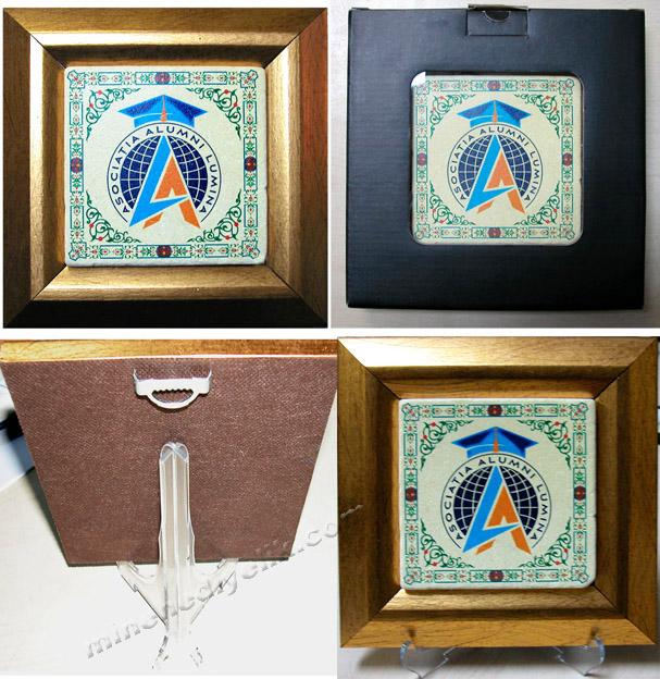 doğal taşa baskılı duvar süsü hediyelik masa süsü hediyelik masa dekoru kurumsal logo baskılı EKONOMİK HEDİYE FİKİRLERİ