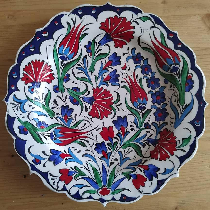 Turkish Handmade Ceramic Plates