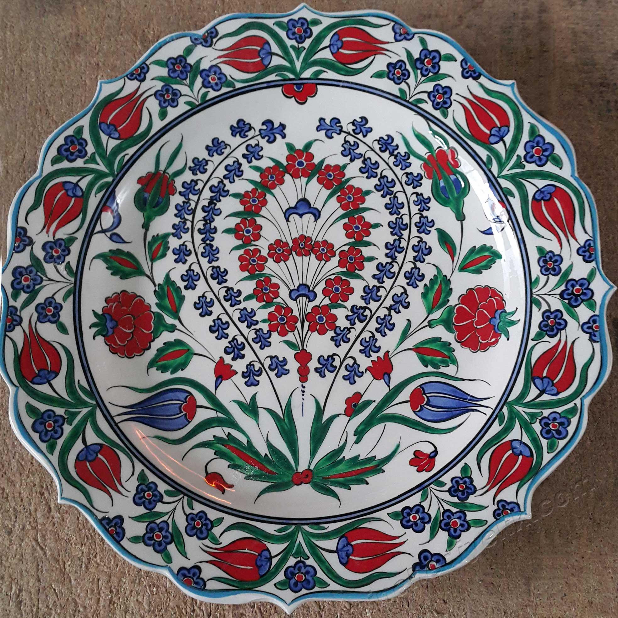 Geleneksel 16. Yüzyıl İznik Çini Replikaları, İmitasyonları Osmanlı da İznik çini atölyelerinde üretilmiş benzersiz eserlerin yeniden tasarımları