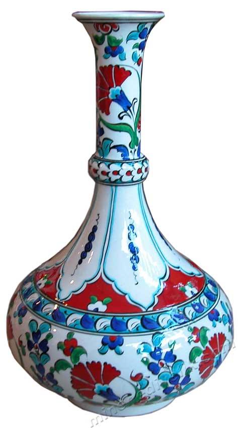 El Yapımı Çini ve Seramik Vazo  Modelleri ve Fiyatları, Büyük vazo Fiyatları, Çini Desenli Vazo  Modelleri Desenleri Çeşitleri kadife kutuda çini vazolar seramik vazo boyları