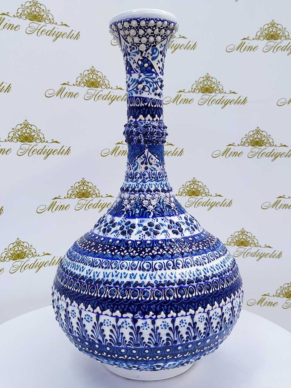 Aile Deseni Çini vazo modelleri