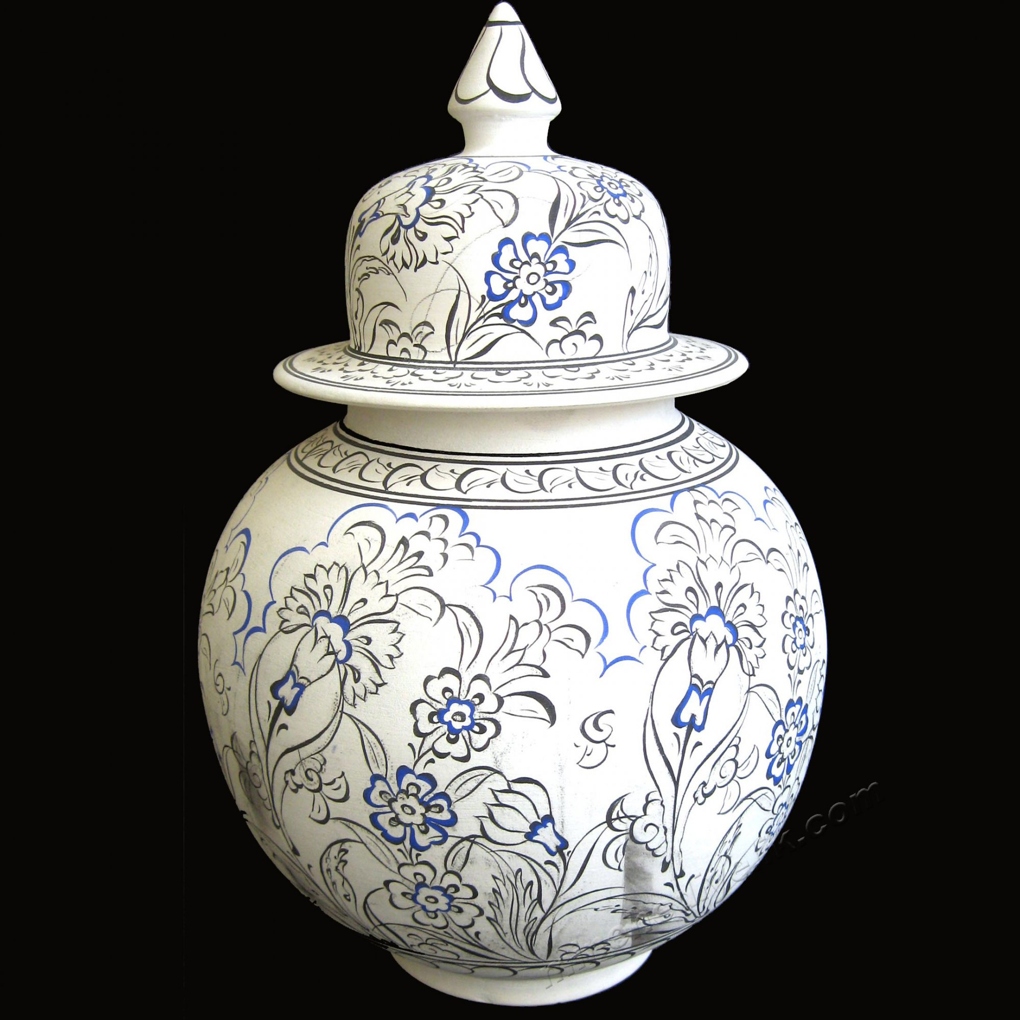 Türk çini sanatı nasıl yapılır çizilir boyanır, kavanoz desenleri, çini klasik lale çizimleri tahrirleri, desen tahriri, küp üzerinde çini çizimler