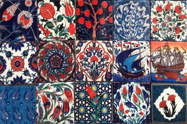 Handmade Ottoman Turkish Tile