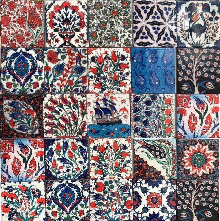 Handmade Ottoman Turkish Tiles