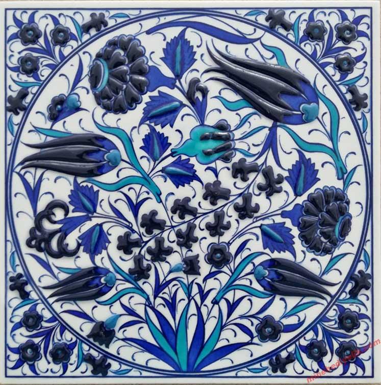 Klasik İznik Usulu El Yapımı Osmanlı Panoları