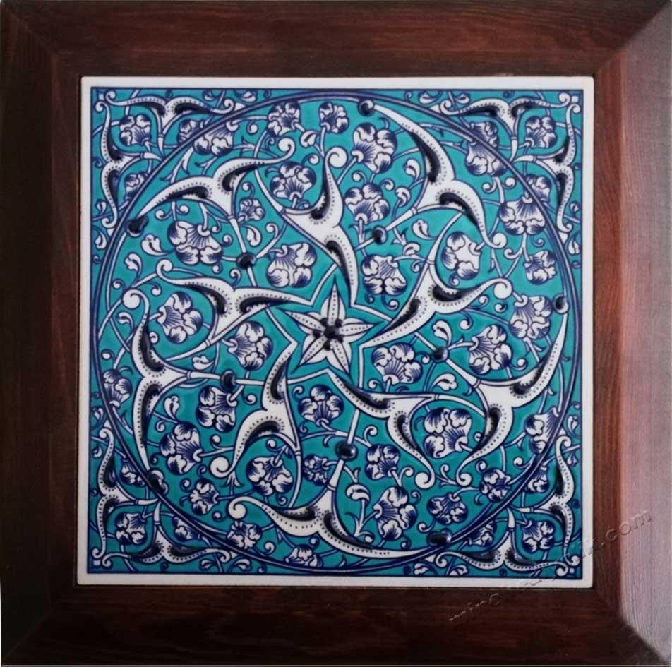 Osmanlı Mavi  Beyaz Çinileri