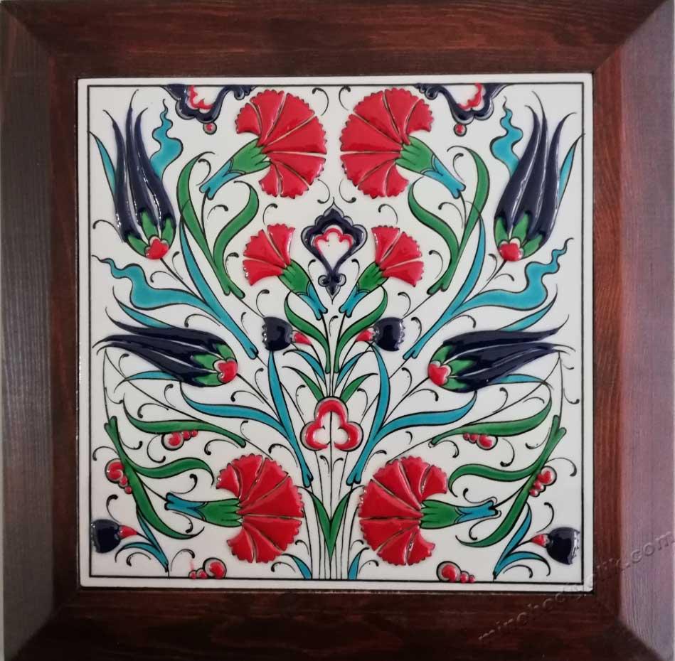 Kurumsal Hediyelik Çerçeveli Kutulu Çini Karolar Tablolar Panolar Toplu Hediye Alternatifleri Hediyelik Dekoratif çiniler geleneksel Kültürel Hediyeler mağazası