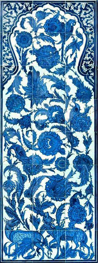 Ceylanlı Osmanlı saray seramikleri panoları