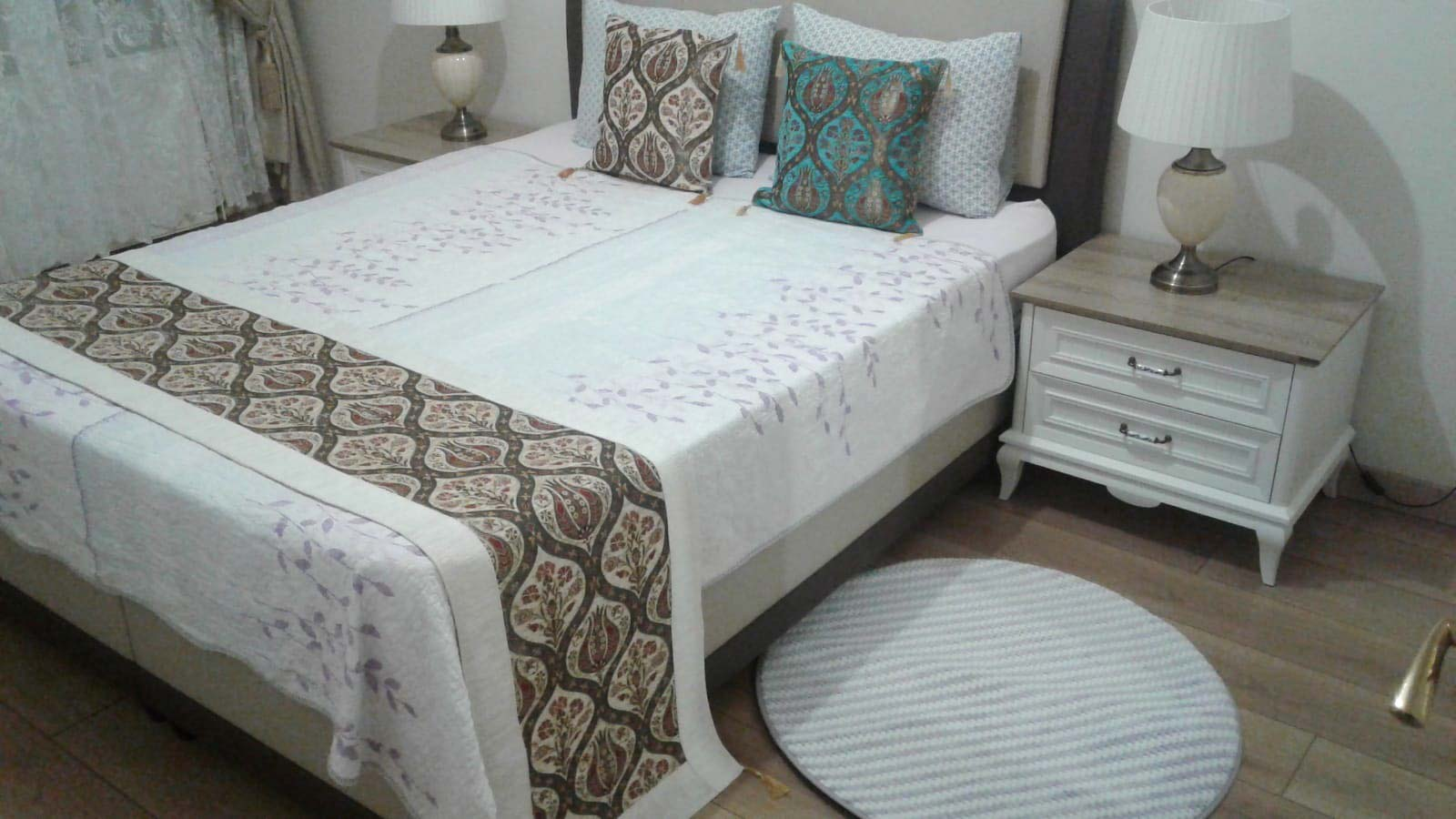 Yatak Odası Tekstili Örtüsü ve Rannır En Uygun Fiyatlar