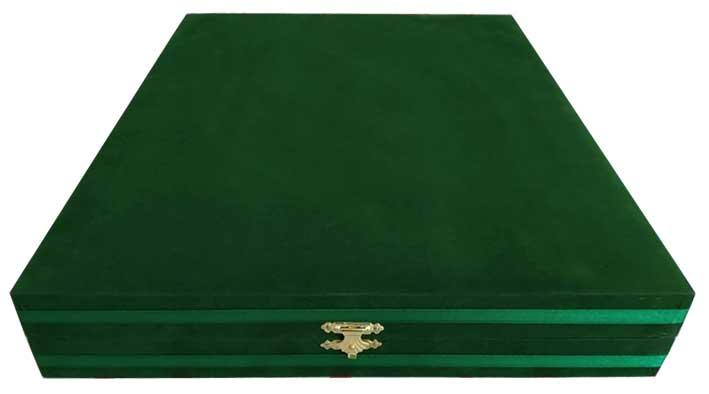 Yeşil Renk Kadife Kutu