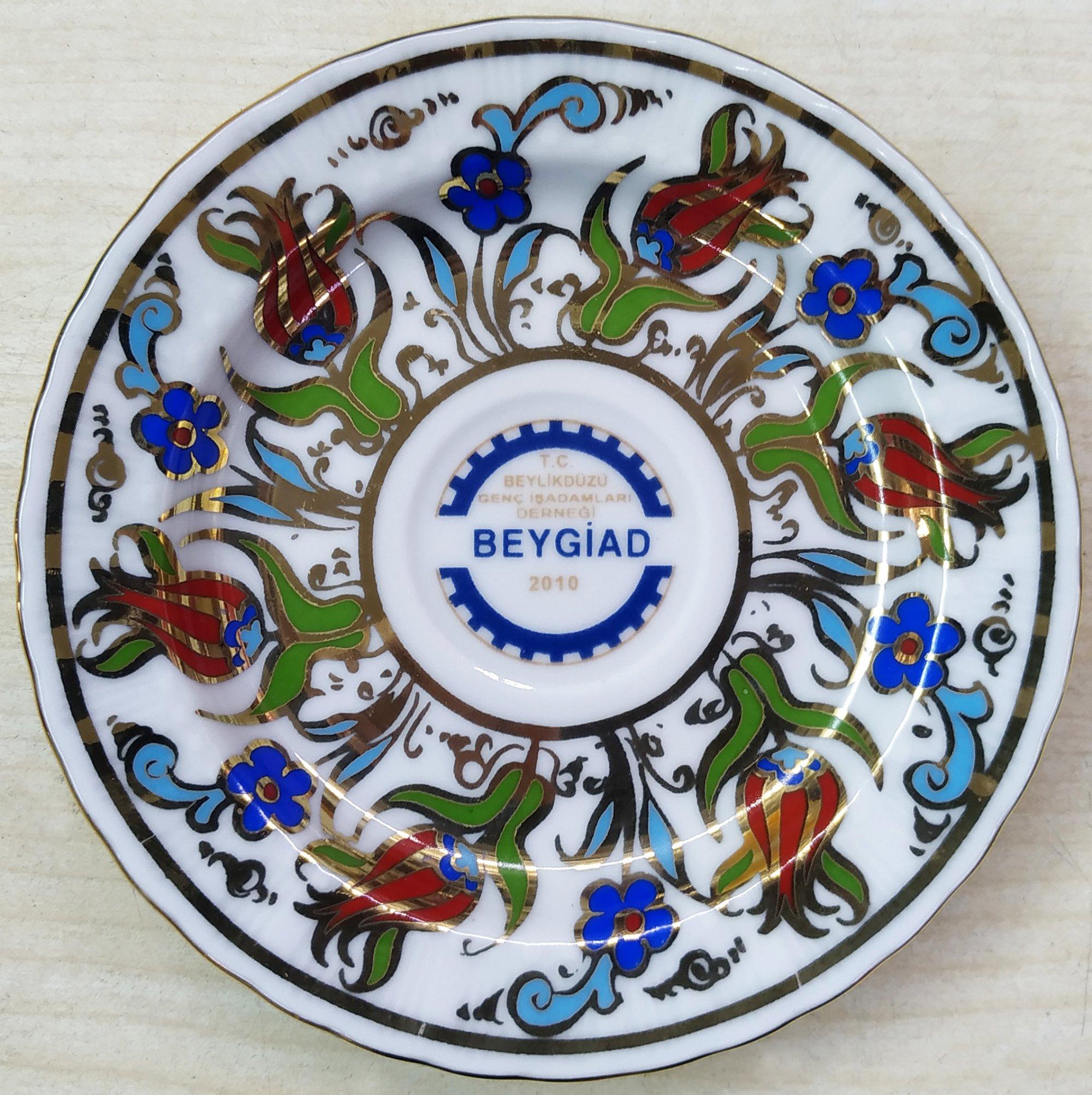 Kurumsal Logo Baskılı Kahve Fincan Setleri kalıcı logo baskılı promosyon fincan seti hediyelik  kahve fincan takımları Türk kahvesi hediye kutusu