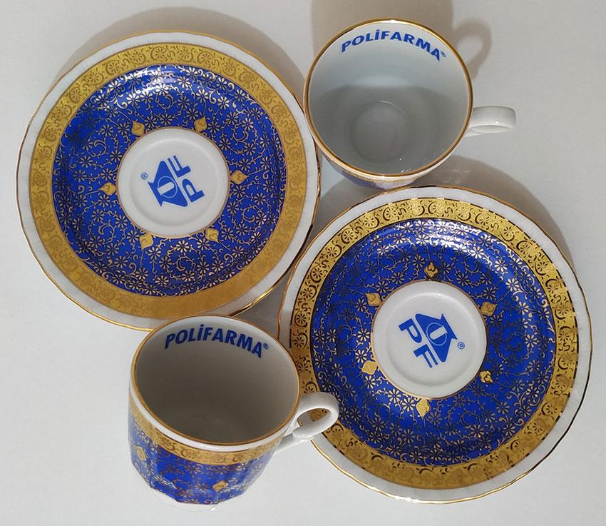 Logo Baskılı Hediyelik Bakır Cezveli Kahve Takımı Setleri Otantik Hediye  Kurumsal Fincan Seti Osmanlı Fincan Takımı
