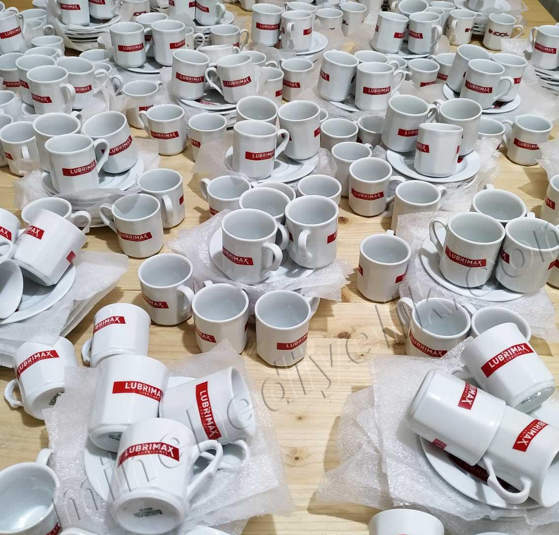 Kurumsal Promosyon Amaçlı Logolu Kahve Fincan Takımları Hediyelik altı Kişilik kurumsal promosyon Kahve Fincanları Toptan Satış Fiyatları