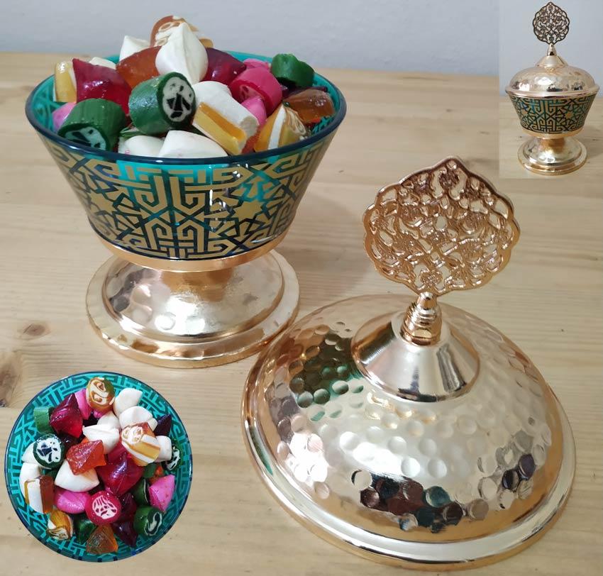Geleneksel Osmanlı Akide Şekerlik Kutusu