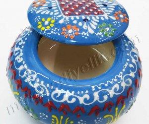 Çini Pudriyerlik ve Lokumluklar Kapaklı Mini  Şekerlikler  Hediye ikram kutuları modelleri ve fiyatları